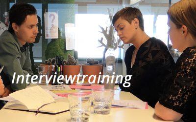 Drie tips voor een succesvol interview