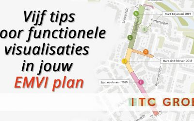 Vijf tips voor functionele visualisaties in jouw EMVI-plan