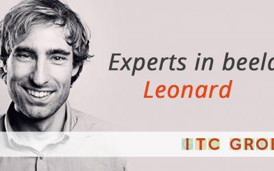 Experts in beeld: Leonard Vischer, pionier van de realisatieafdeling.
