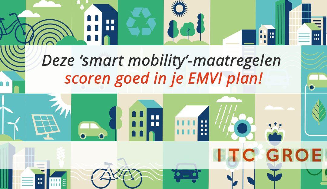 Deze 'smart mobility'-maatregelen scoren goed in je EMVI-plan